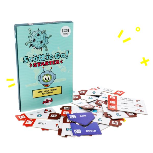 scottie go starter pudełko z kartonowymi klockami do nauki programowania