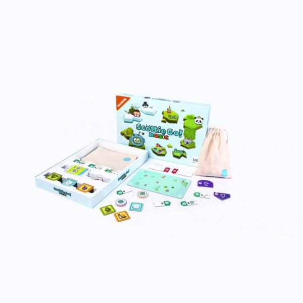 scottie go basic plansza kartonowe klocki gra edukacyjna dla dzieci